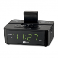Conair� Clock Radio with iPod� Compatible Dock