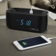 Conairtime® Digital Alarm Clock with Dual USB Charging Ports Inset Image