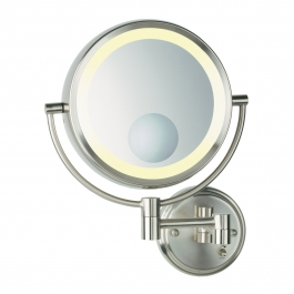 Conair® Direct Wire Lighted Wall-Mount Mirror
